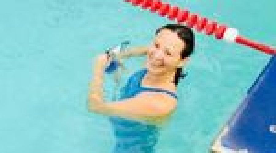 Alison Tam Swimming